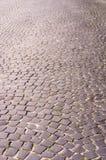 Piedras de pavimentación viejas Foto de archivo