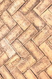 Piedras de pavimentación viejas del ladrillo Fotos de archivo