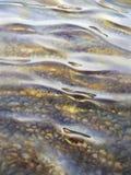 Piedras debajo de la acuarela del agua stock de ilustración