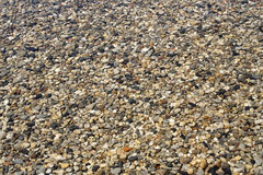 Piedras debajo del agua clara Foto de archivo libre de regalías