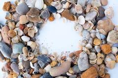 Piedras del ‹del †del ‹del †del mar Foto de archivo