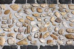 Piedras del adoquín Imágenes de archivo libres de regalías