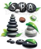Piedras del balneario libre illustration