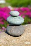Piedras del balneario Fotografía de archivo libre de regalías