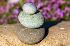 Piedras del balneario Imagen de archivo