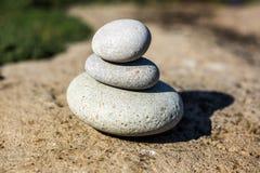 Piedras del balneario Imagenes de archivo