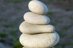 Piedras del balneario Foto de archivo libre de regalías