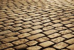 Piedras del granito de la pavimentación de la jarra Fotos de archivo libres de regalías