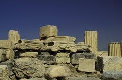 Piedras del griego clásico Fotografía de archivo libre de regalías
