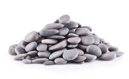 Piedras del grupo aisladas Foto de archivo