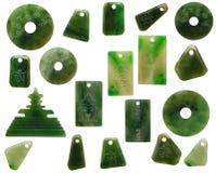 Piedras del jade Imagen de archivo libre de regalías