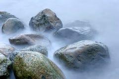 Piedras del océano Fotos de archivo libres de regalías