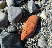 Piedras del océano en la playa Fotografía de archivo libre de regalías