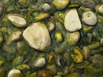 Piedras del río Imágenes de archivo libres de regalías