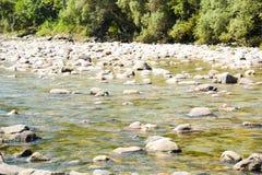 Piedras del río y del mar Imagen de archivo libre de regalías