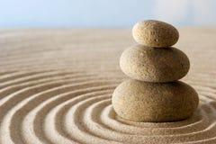 Piedras del zen Fotografía de archivo