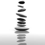 Piedras del zen Imagenes de archivo