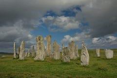 Piedras derechas Fotografía de archivo