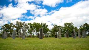 Piedras derechas australianas Imágenes de archivo libres de regalías