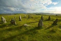 Piedras derechas de Callanish Fotos de archivo