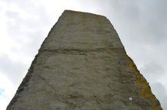 Piedras derechas de Stenness, megalitos neolíticos en la isla del continente las Orcadas, Escocia Imagenes de archivo
