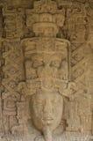 Piedras derechas mayas, Quirigua, Guatemala Foto de archivo libre de regalías