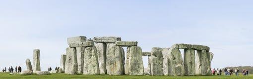 Piedras derechas Wiltshire Inglaterra de Stonehenge Fotografía de archivo libre de regalías