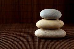 Piedras empiladas Imagen de archivo libre de regalías