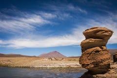 Piedras en desierto Fotos de archivo libres de regalías