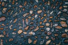 Piedras en el fondo de la calle fotos de archivo