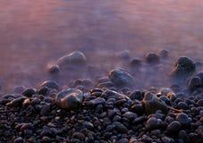 Piedras en el mar Imágenes de archivo libres de regalías
