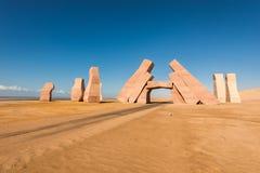 Piedras en el parque nacional Ras Mohammed Imagen de archivo libre de regalías