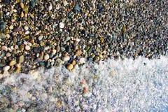 Piedras en la parte inferior Foto de archivo libre de regalías