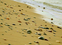 Piedras en la playa Foto de archivo