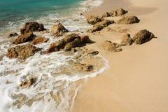 Piedras en la playa Foto de archivo libre de regalías