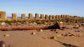 Piedras en la playa Imágenes de archivo libres de regalías