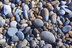 Piedras en la playa, casquillo Gris Nez Imagen de archivo libre de regalías