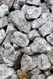 Piedras en la textura de tierra Imagenes de archivo