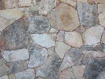 Piedras en una pared imagen de archivo