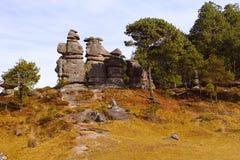 Piedras encimadas dolina XVIII Obrazy Royalty Free