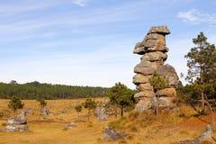 Piedras encimadas valley XXI Royalty Free Stock Photo