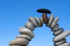 Piedras equilibradas Imagen de archivo libre de regalías