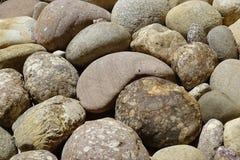 Piedras grandes como textura del fondo Fotos de archivo libres de regalías