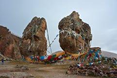 Piedras grandes del acebo Imagen de archivo libre de regalías