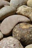 Piedras grandes detalladamente como textura del fondo Foto de archivo libre de regalías