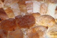 Piedras Himalayan de la sal Foto de archivo libre de regalías