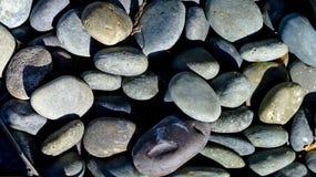 Piedras lisas Foto de archivo libre de regalías