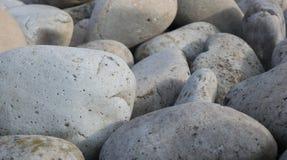 Piedras lisas grandes Foto de archivo