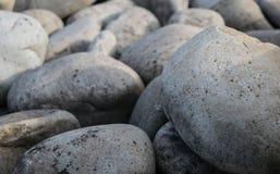 Piedras lisas grandes Fotos de archivo