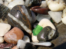 Piedras marinas fotos de archivo